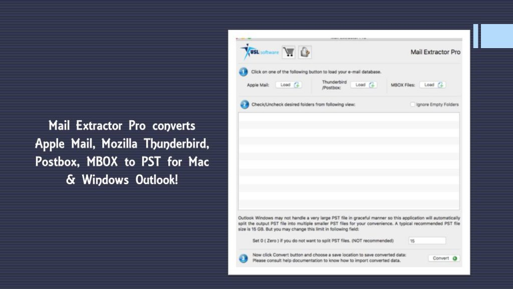 thunderbird mail to outlook pst