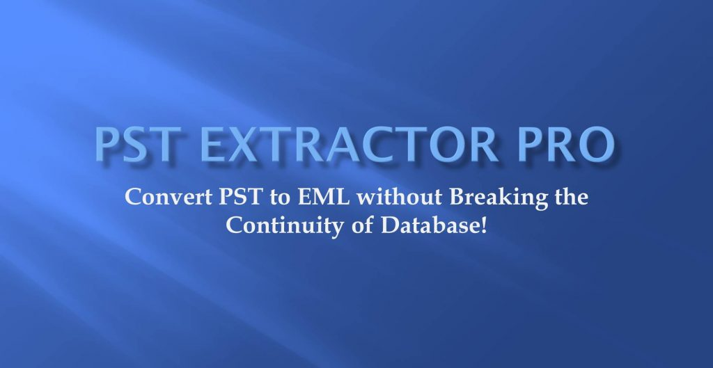 converting pst to eml