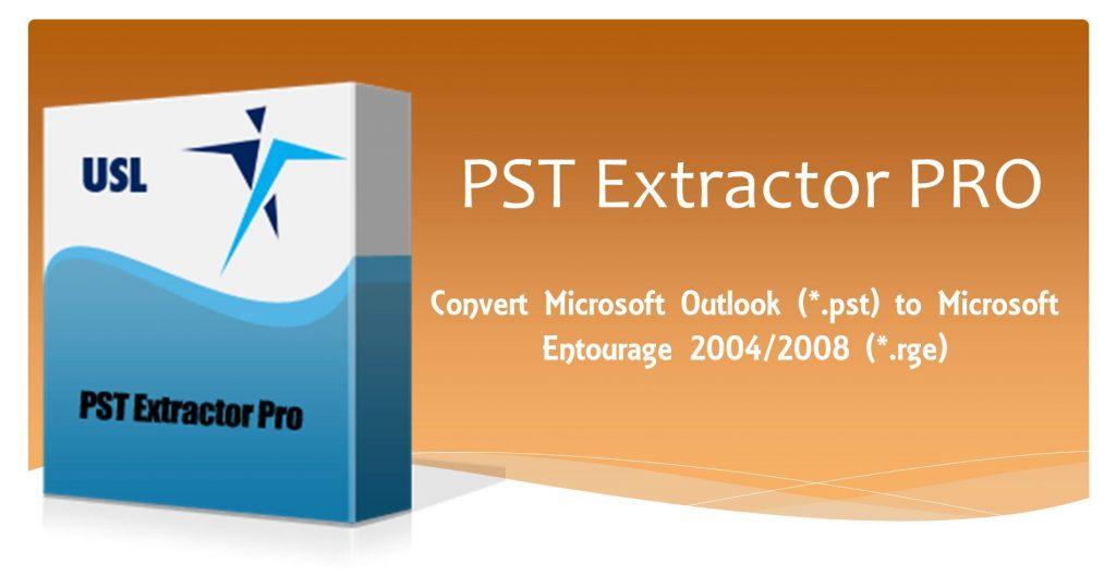 convert pst to entourage archive